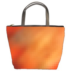 Bright Tech Background Bucket Bags