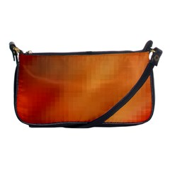 Bright Tech Background Shoulder Clutch Bags