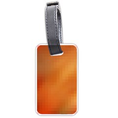 Bright Tech Background Luggage Tags (one Side)