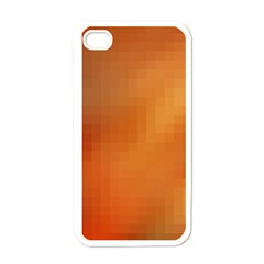 Bright Tech Background Apple Iphone 4 Case (white)
