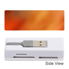 Bright Tech Background Memory Card Reader (stick)