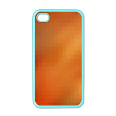 Bright Tech Background Apple Iphone 4 Case (color)
