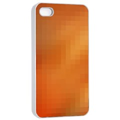 Bright Tech Background Apple Iphone 4/4s Seamless Case (white)
