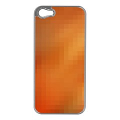 Bright Tech Background Apple Iphone 5 Case (silver)