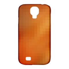 Bright Tech Background Samsung Galaxy S4 Classic Hardshell Case (pc+silicone)