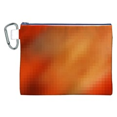 Bright Tech Background Canvas Cosmetic Bag (xxl)