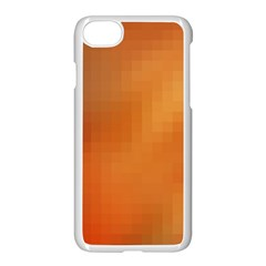 Bright Tech Background Apple Iphone 7 Seamless Case (white)