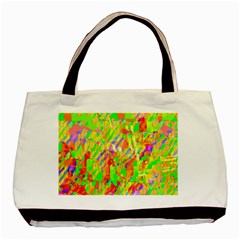 Cheerful Phantasmagoric Pattern Basic Tote Bag