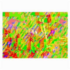 Cheerful Phantasmagoric Pattern Large Glasses Cloth