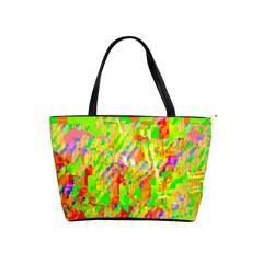 Cheerful Phantasmagoric Pattern Shoulder Handbags