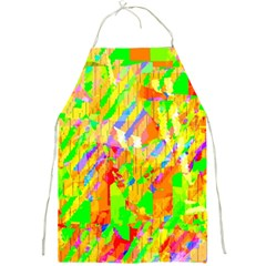 Cheerful Phantasmagoric Pattern Full Print Aprons