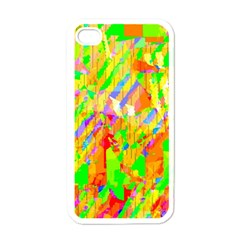 Cheerful Phantasmagoric Pattern Apple Iphone 4 Case (white)