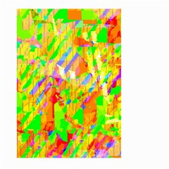 Cheerful Phantasmagoric Pattern Large Garden Flag (two Sides)