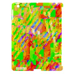 Cheerful Phantasmagoric Pattern Apple Ipad 3/4 Hardshell Case (compatible With Smart Cover)