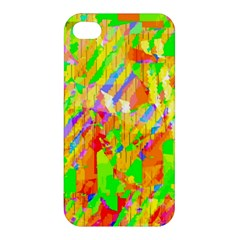 Cheerful Phantasmagoric Pattern Apple Iphone 4/4s Premium Hardshell Case