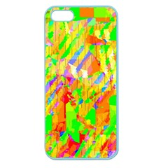 Cheerful Phantasmagoric Pattern Apple Seamless Iphone 5 Case (color)
