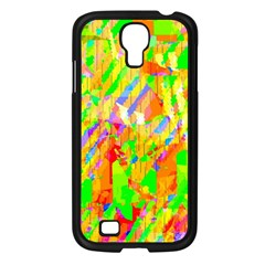 Cheerful Phantasmagoric Pattern Samsung Galaxy S4 I9500/ I9505 Case (black)