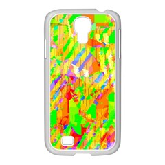 Cheerful Phantasmagoric Pattern Samsung Galaxy S4 I9500/ I9505 Case (white)