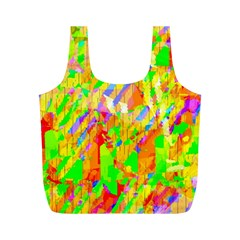Cheerful Phantasmagoric Pattern Full Print Recycle Bags (m)