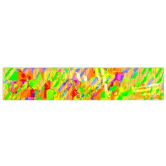 Cheerful Phantasmagoric Pattern Flano Scarf (small)