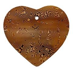 Circuit Board Ornament (heart)
