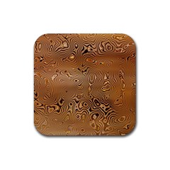 Circuit Board Rubber Square Coaster (4 Pack)