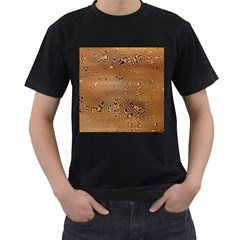 Circuit Board Men s T Shirt (black) (two Sided)