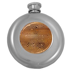 Circuit Board Round Hip Flask (5 Oz)