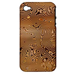 Circuit Board Apple Iphone 4/4s Hardshell Case (pc+silicone)