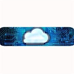 Circuit Computer Chip Cloud Security Large Bar Mats