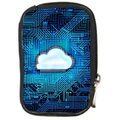 Circuit Computer Chip Cloud Security Compact Camera Cases