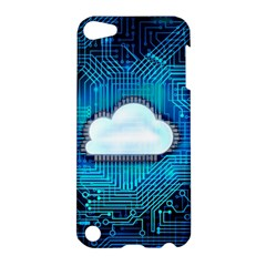 Circuit Computer Chip Cloud Security Apple Ipod Touch 5 Hardshell Case