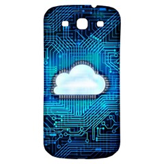 Circuit Computer Chip Cloud Security Samsung Galaxy S3 S Iii Classic Hardshell Back Case