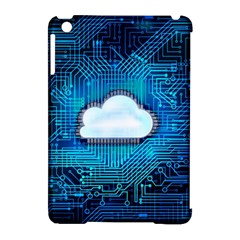 Circuit Computer Chip Cloud Security Apple Ipad Mini Hardshell Case (compatible With Smart Cover)