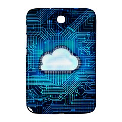 Circuit Computer Chip Cloud Security Samsung Galaxy Note 8 0 N5100 Hardshell Case