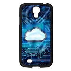 Circuit Computer Chip Cloud Security Samsung Galaxy S4 I9500/ I9505 Case (black)