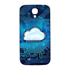 Circuit Computer Chip Cloud Security Samsung Galaxy S4 I9500/i9505  Hardshell Back Case