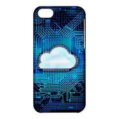 Circuit Computer Chip Cloud Security Apple Iphone 5c Hardshell Case