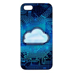 Circuit Computer Chip Cloud Security Iphone 5s/ Se Premium Hardshell Case