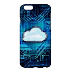 Circuit Computer Chip Cloud Security Apple Iphone 6 Plus/6s Plus Hardshell Case