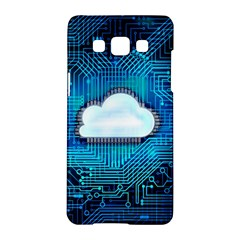 Circuit Computer Chip Cloud Security Samsung Galaxy A5 Hardshell Case