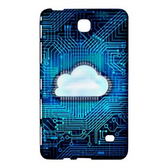 Circuit Computer Chip Cloud Security Samsung Galaxy Tab 4 (7 ) Hardshell Case