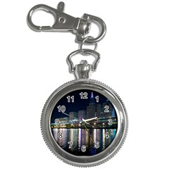 Cleveland Building City By Night Key Chain Watches