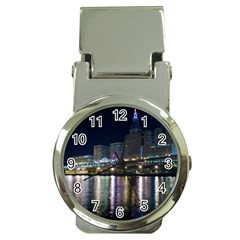 Cleveland Building City By Night Money Clip Watches