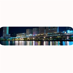Cleveland Building City By Night Large Bar Mats