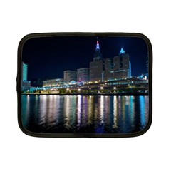Cleveland Building City By Night Netbook Case (Small)