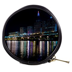 Cleveland Building City By Night Mini Makeup Bags