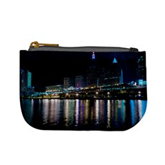 Cleveland Building City By Night Mini Coin Purses