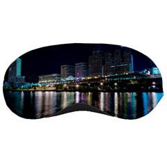 Cleveland Building City By Night Sleeping Masks