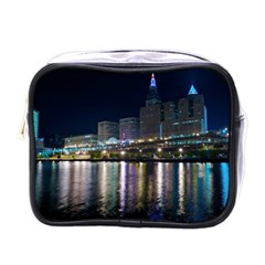 Cleveland Building City By Night Mini Toiletries Bags